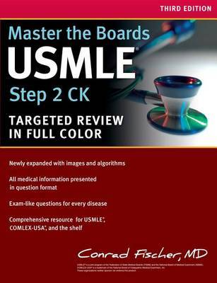 Master the Boards USMLE Step 2 CK | Conrad Fischer Book | Buy Now