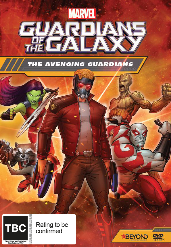 Guardians Of The Galaxy: The Avenging Guardians on DVD image