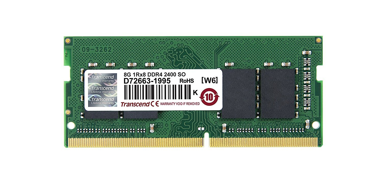 Transcend: JetRam 8GB DDR4-2400 SO-DIMM image