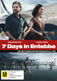 7 Days in Entebbe on DVD