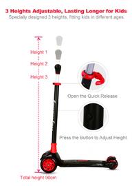 RoyalBaby: Basic Adjustable Scooter - Dazzler image