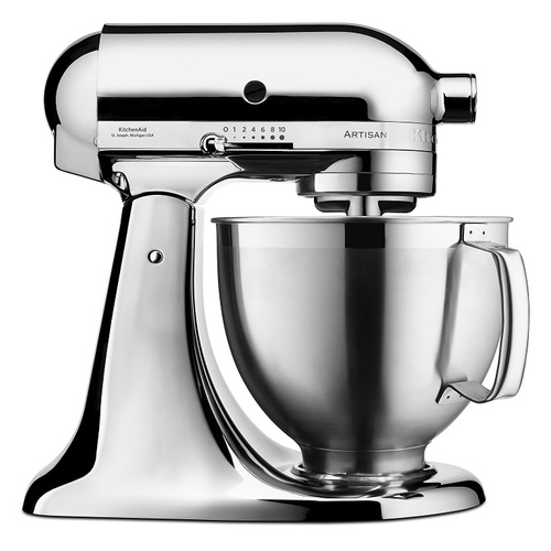 KitchenAid: Artisan Stand Mixer - Metallic Chrome