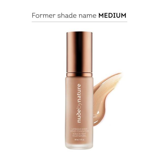 Nude by Nature Luminous Sheer Liquid Foundation N2 - Warm Nude