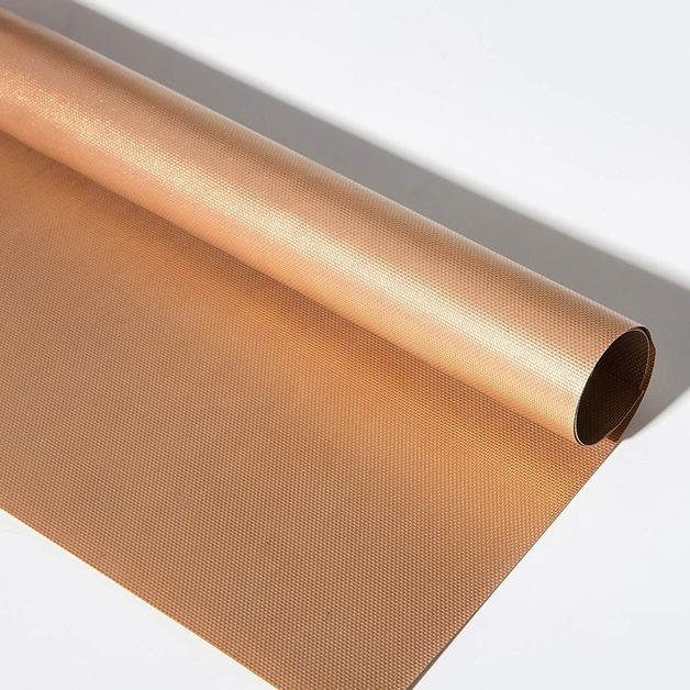 Gold Reusable Teflon BBQ Mat