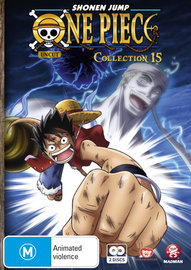 One Piece (Uncut) - Collection 15 on DVD