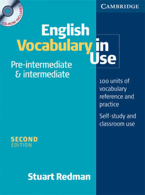 English Vocabulary in Use Pre-Intermediate and Intermediate Book and CD-ROM Pack by Lynda Edwards