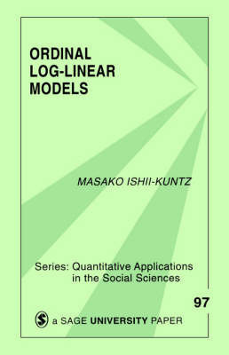 Ordinal Log-Linear Models by Masako Ishii-Kuntz
