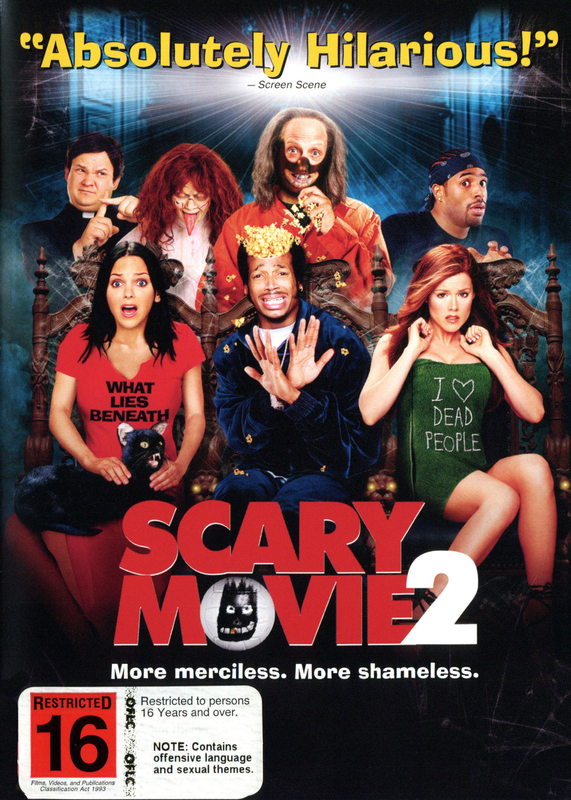 Scary Movie 2 on DVD