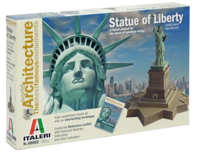 Italeri: 1:250 Statue Of Liberty: World Architecture - Model Kit