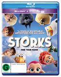 Storks (Blu-ray + Ultraviolet) on Blu-ray