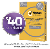 Norton Security Premium for Ten Devices - 1 Year License