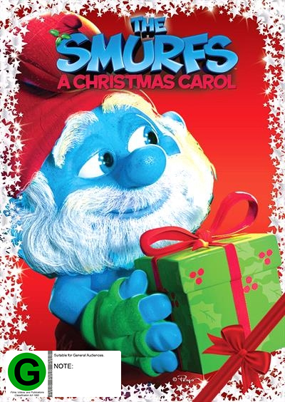 The Smurfs: A Christmas Carol on DVD
