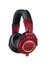 Audio Technica: ATH-M50X Studio Monitors - Limited Edition Red