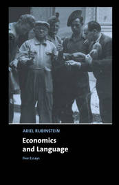 Economics and Language by Ariel Rubinstein