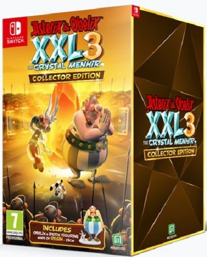 Asterix and Obelix XXL3 The Crystal Menhir Collector's Edition for Switch