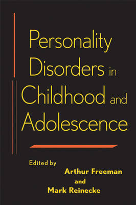 Personality Disorders in Childhood and Adolescence image