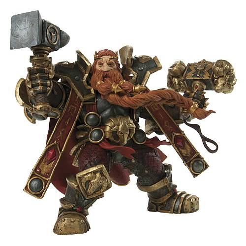 World of Warcraft Series 6 Dwarven King Action Figure image