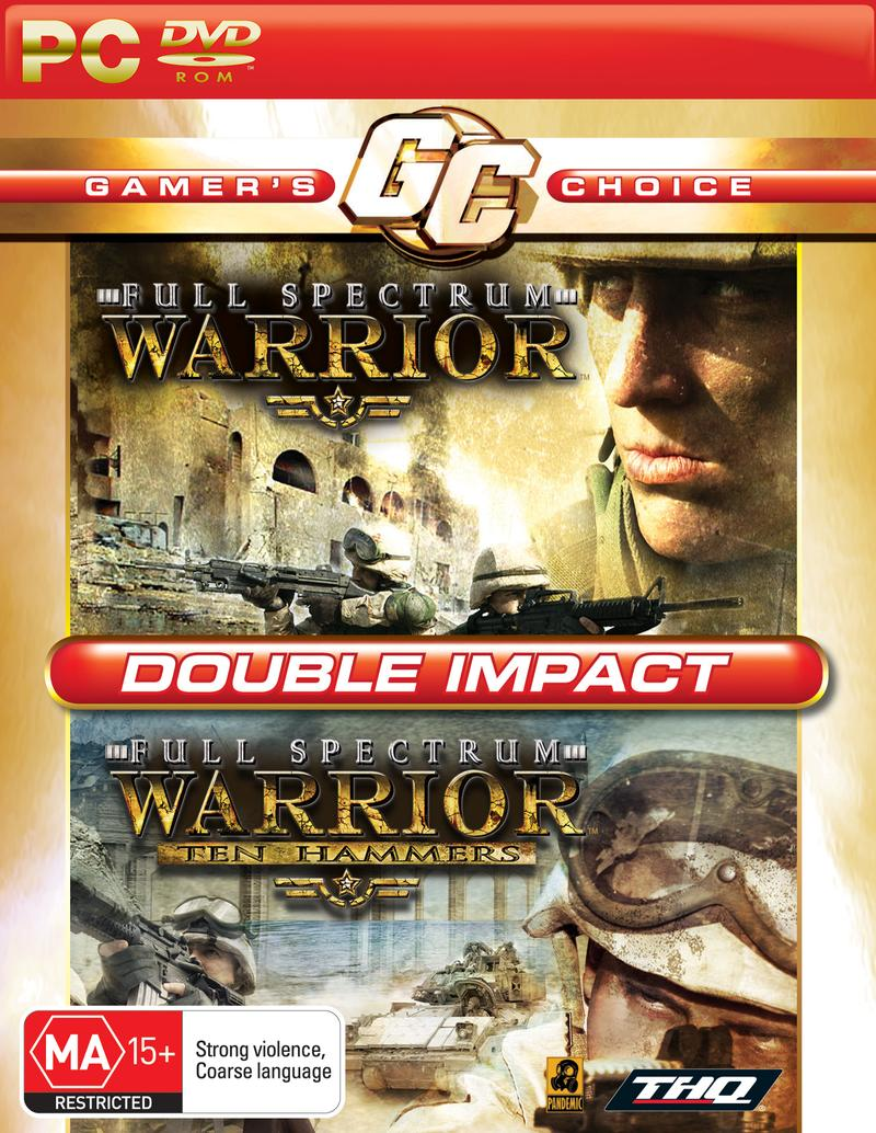Full Spectrum Warrior 1+2 Double Pack (Gamer's Choice) for PC image