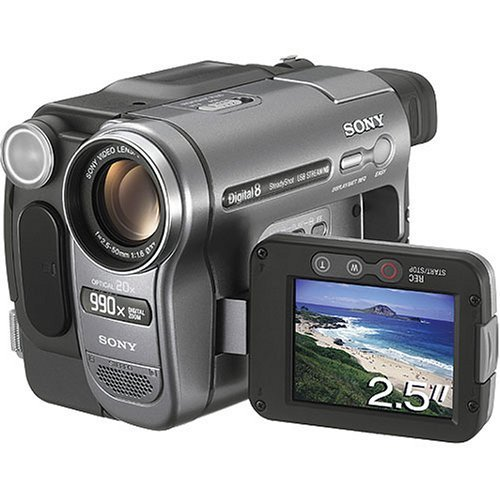 Sony Handycam Digital 8 2.5  LCD DCRTRV285E
