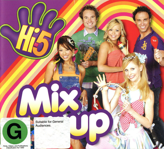 Hi-5 - Mix It Up on DVD