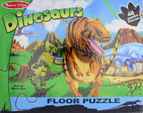 Land of Dinosaurs Floor Puzzle - Melissa & Doug
