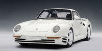 AUTOart 1/18 Porsche 959 (White) Diecast Model