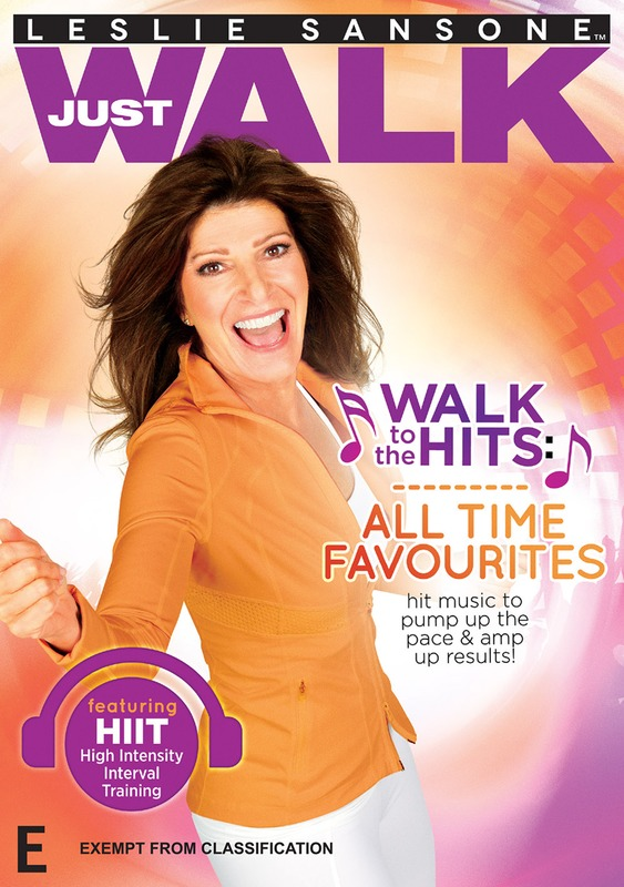 Leslie Sansone: Walk To The Hits All Time Favorites on DVD