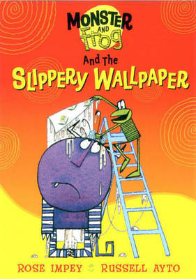 Monster And Frog and the Slippery Wallpaper by Rose Impey image