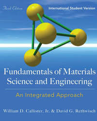 Fundamentals of Materials Science and Engineering by William D. Callister image