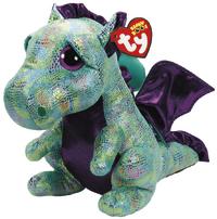 Ty Beanie Boo: Cinder Green Dragon - Small Plush