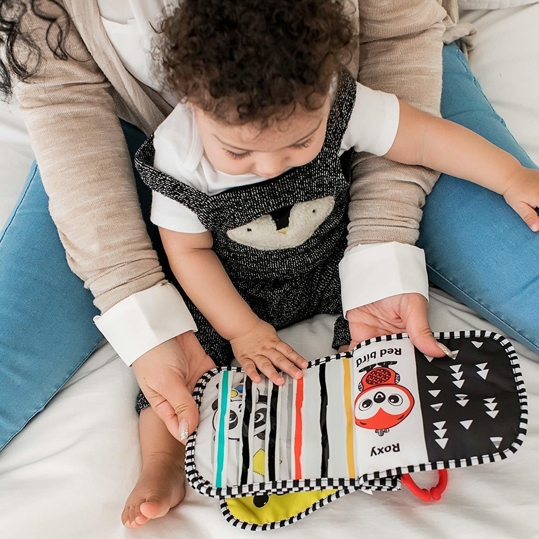 Baby Einstein: Flip & Discover Book - High Contrast image
