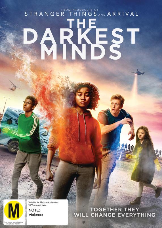 The Darkest Minds on DVD