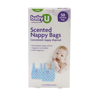 Baby U Nappy Bags (50 Bags)