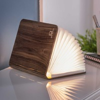 Walnut Mini Smart Led Light Book