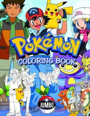 Pokemon Coloring Book by Little Penguin