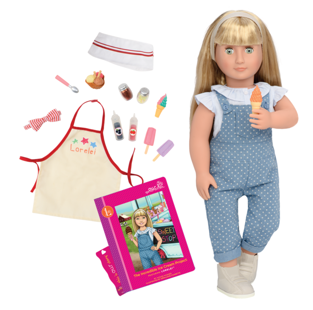 "Our Generation: 18"" Deluxe Doll & Book - Lorelei"