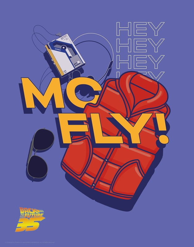 Back to the Future: Premium Art Print - Mc-Fly! (Limited Edition)