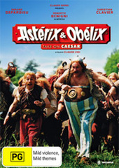 Asterix And Obelix Take On Caesar on DVD