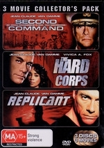 Second In Command / Hard Corps / Replicant - 3 Movie Collector's Pack (3 Disc Set) on DVD