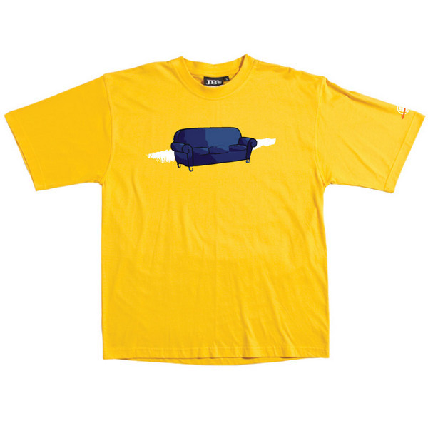Couch - Tshirt (Yellow) for