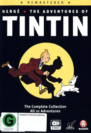The Adventures of Tintin - Remastered on DVD image