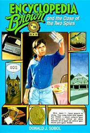 Encyclopedia Brown & The Case Of The Two Spies by Donald J Sobol image