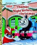 Thomas' Night Before Christmas (Little Golden Book) by R Schuyler Hooke