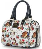 Loungefly Disney Beauty & the Beast Tattoo Duffle Bag