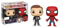 Spider-Man: Homecoming - Spider-Man & Peter Parker Pop! Vinyl 2-Pack