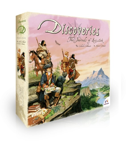 Discoveries - Board Game image