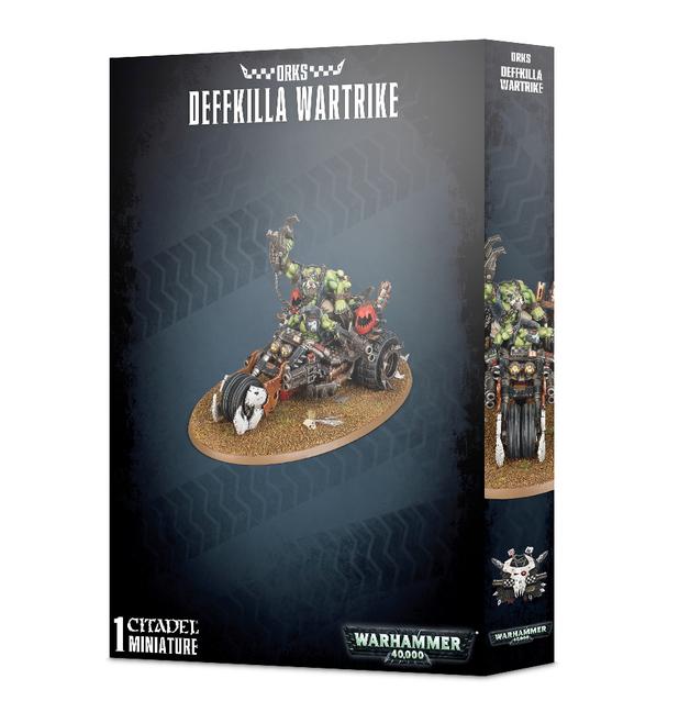 Warhammer 40,000 Orks Deffkilla Wartrike
