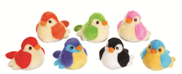 Birdie - Plush with Sound (Assorted Designs)