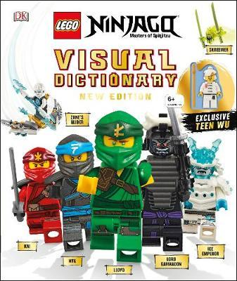 LEGO NINJAGO Visual Dictionary New Edition by Arie Kaplan