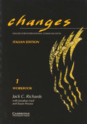 Changes 1 Workbook Italian edition: English for International Communication by Gabriela Bruner image